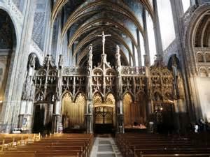 Unique Postcards Inside Albi S Cathedral Of Saint Cecilia