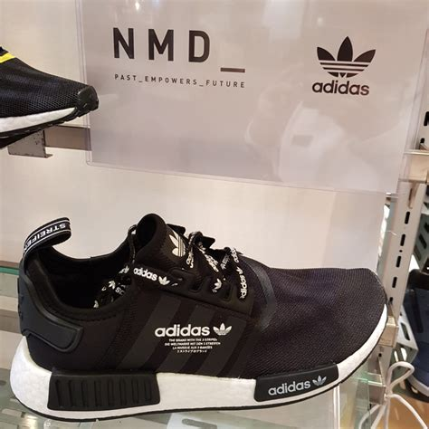 all size adidas nmd r1 japan exclusive black white s fashion footwear sneakers on