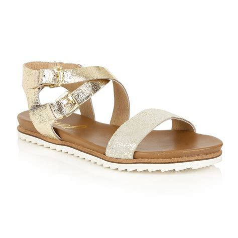 golden sandals buy ravel torrington sandals in gold leather