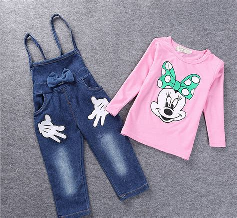 Overall Jumpsuit Minnie Denim mickey mouse overall promotion shop for promotional mickey