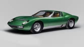 Vintage Lamborghini Vintage Lamborghini Miura Sv Gets A Makeover Style