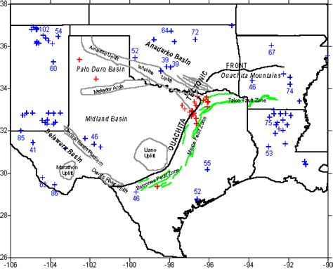 map of texas fault lines texas fault lines legends of green isle