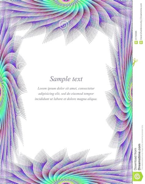 Page Templates by Template Page Borders Template