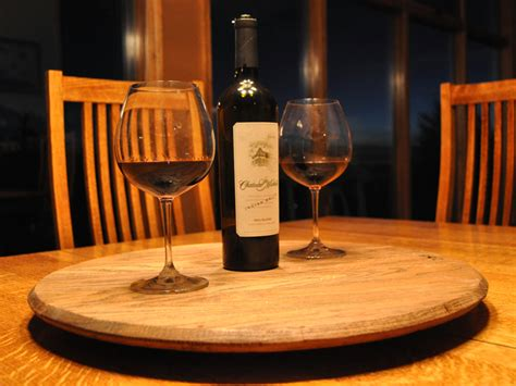 Wine Out Of Upholstery by Diy Whisky Barrel Lazy Susan