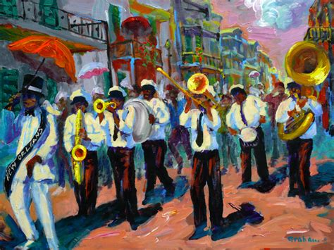 Watercolor New Orleans Second Line | playground graphics home 7th digital art second line
