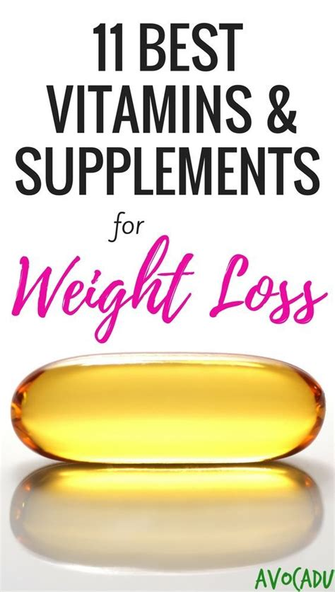 b supplements for weight loss high your 11 best vitamins and supplements for