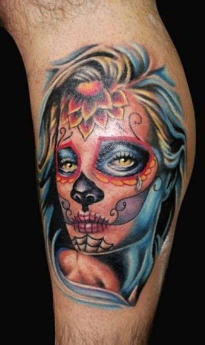 7 Mexican Tattoos For Leg Dia De Los Muertos Tattoos Ideas
