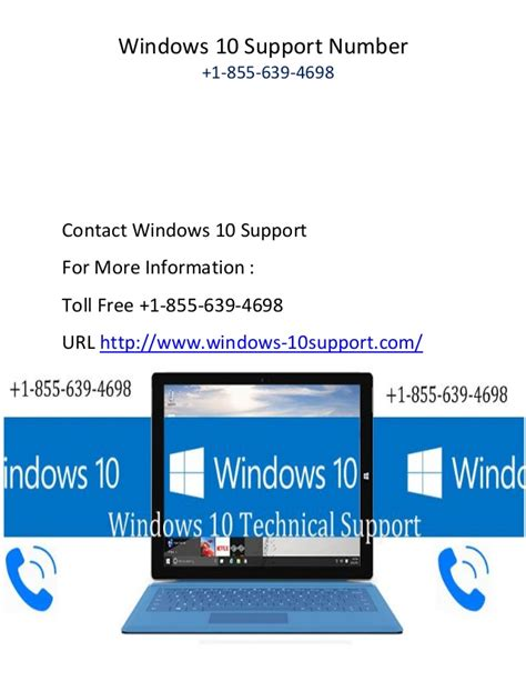 windows help desk phone number windows 10 support phone number 1 855 639 4698