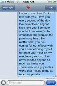 Tell your boyfriend this when he is mad at you and you miss him more