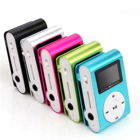 Mp3 Mini Plastics Clip Mp3 Player Tf Card Mp3 Jepit Shuffle aliexpress buy wholesale superior mini usb metal clip mp3 player lcd screen support 32gb