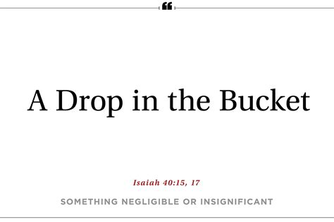 a drop in the 12 surprising phrases from the bible reader s digest