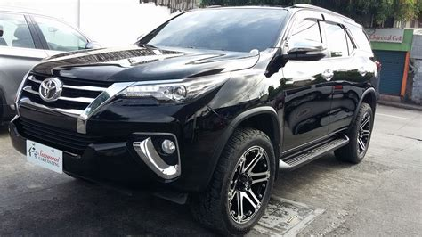 glass carcoating toyota fortuner 2016 black samurai