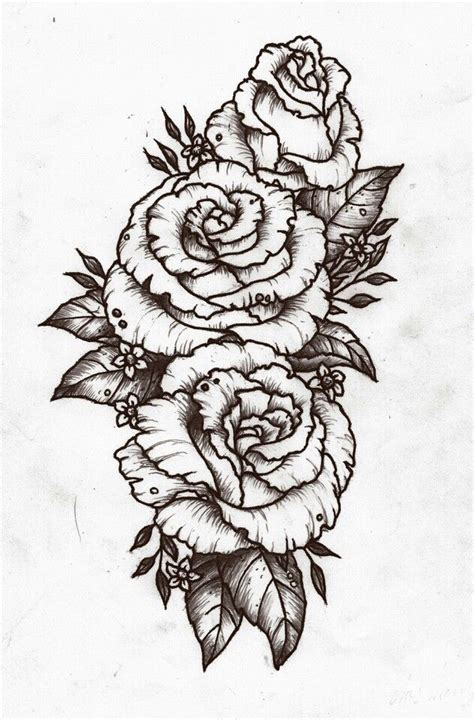 rose design tattoo pinterest design roses and posts