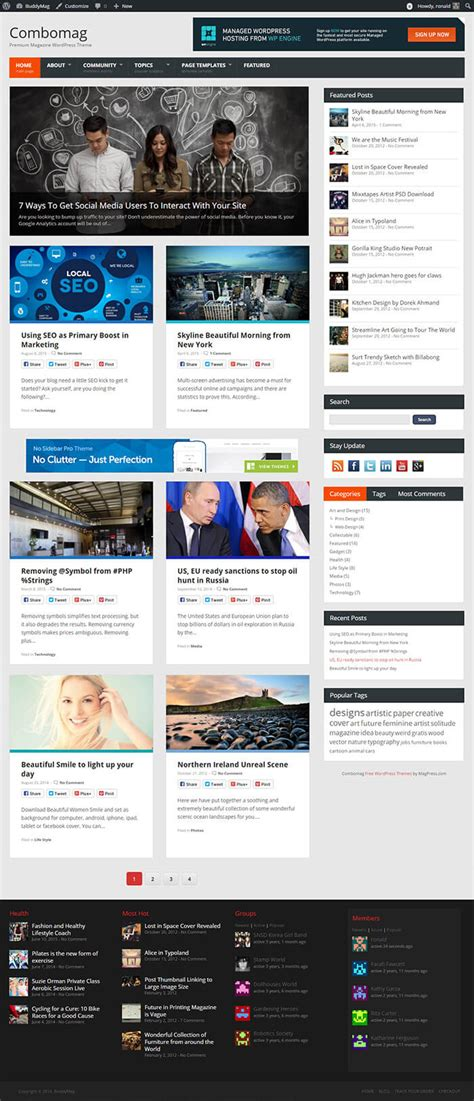 wordpress templates responsive free http webdesign14 com