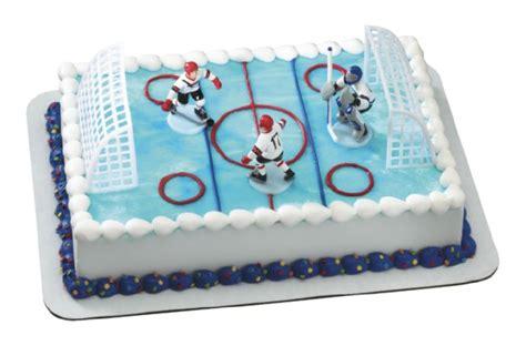 Hockey Cake Decorations hockey cake topper sweet