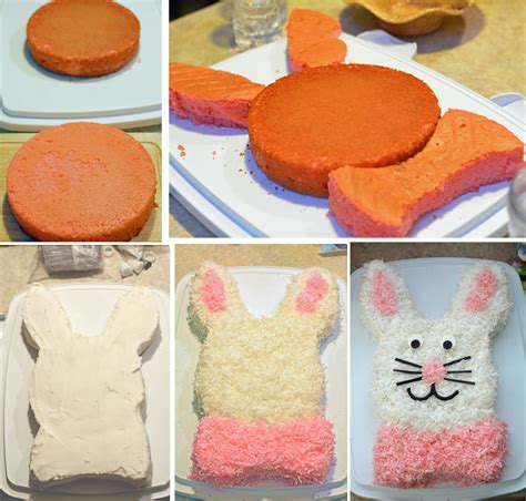 how to make a bunny cake easy easter bunny cake s fabulous finds
