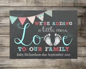 baby pregnancy announcement we re adding a little more