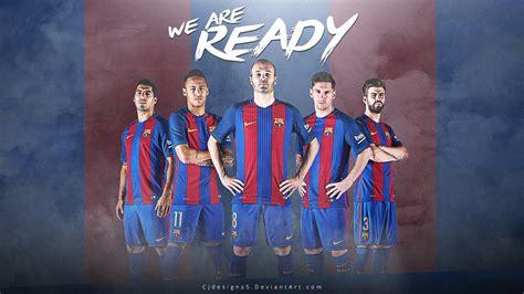 barcelona team wallpaper free download fc barcelona new kit 2016 17 wallpaper by cjdesigns5 on