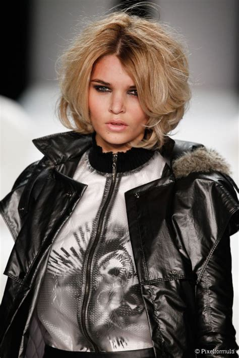 rock and roll female front woman bob haircut how to style a high volume bob for a rock roll look