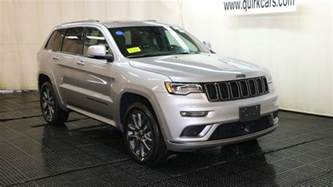 Jeep High Altitude New 2018 Jeep Grand High Altitude Sport Utility