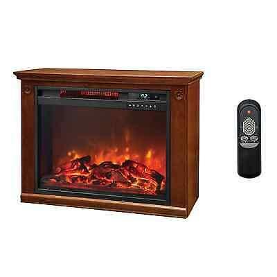 portable electric fireplace heater lifesmart 1500 watt large infrared quartz electric portable fireplace heater 817223011467 ebay