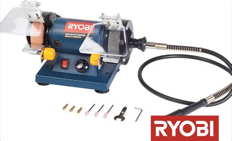 ryobi bench grinders grinders ryobi 120w multi purpose bench grinder with