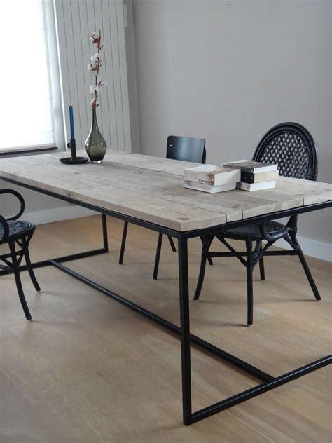 blog de perfecte combinatie steigerhouten tafel met