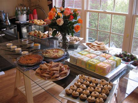 Shower Foods by Baby Shower Food Table Desserts The Food Spread For