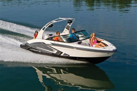 jet boat yacht new chaparral bowrider vrx vortex jet boat for sale