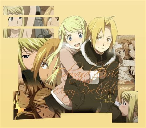 fullmetal alchemist brotherhood edward and winry kiss wallpaper edward elric and winry rockbell by jcmarts on