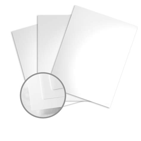 How To Make Glossy Paper - white card stock 8 1 2 x 11 in 80 lb cover glossy