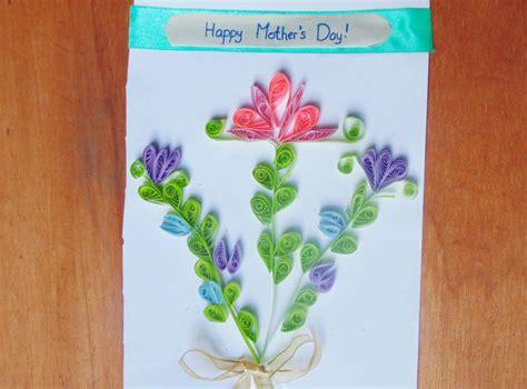 tutorial membuat quilling paper membuat kartu ucapan dengan hiasan paper quilling seni
