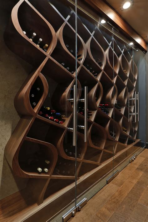 unique wine racks unique wine storage designed and built by genuwine cellars this wine cellar style is known as