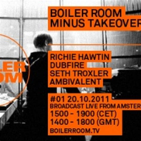 richie hawtin boiler room br amsterdam richie hawtin by boiler room free listening on soundcloud
