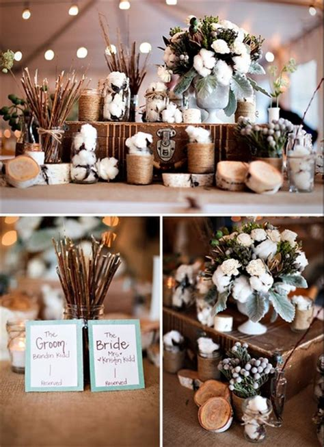 cotton branch centerpiece ideas and where to buy budget