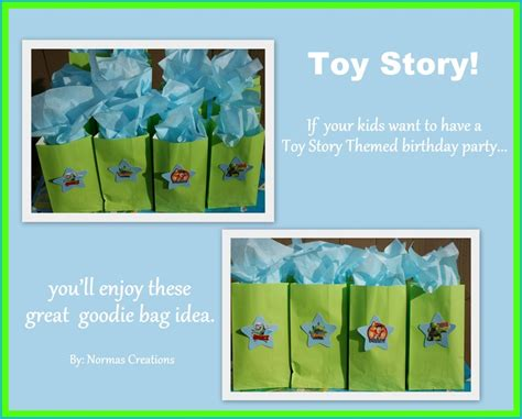 Goody Bag Ransel Story 17 best images about third birthday on treats story and treat bags