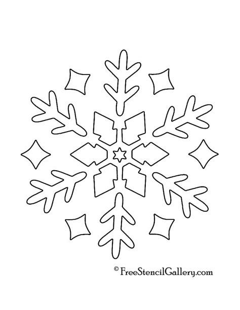 Free Snowflake Template Printable by Best 25 Snowflake Stencil Ideas On Snowflakes