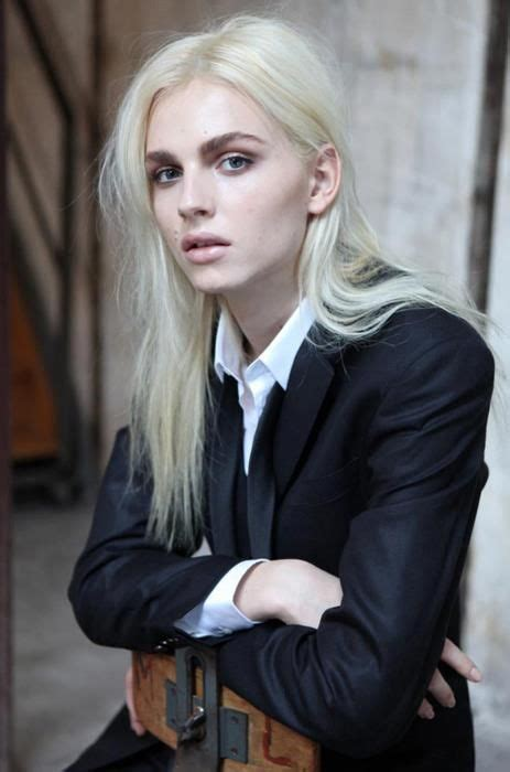 andrej pejic male model wearing mens clothes female
