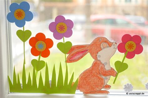 Basteln Kindergarten Frühling by Fr 252 Hling Fensterdeko Raum Und M 246 Beldesign Inspiration