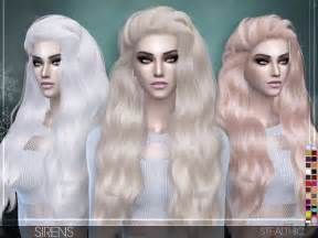 the sims 4 hair sirens female hair by stealthic at tsr 187 sims 4 updates