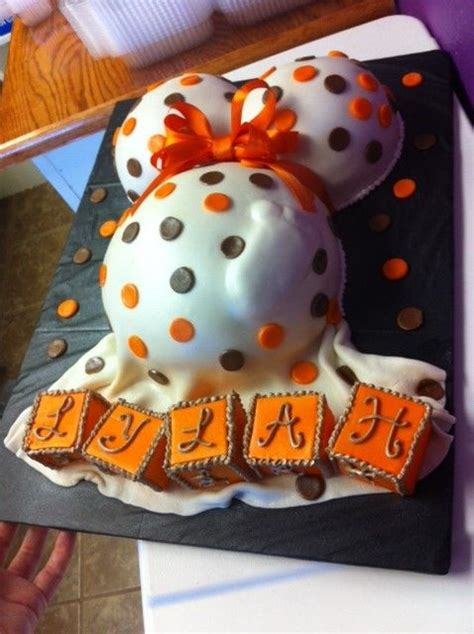 Fall Baby Shower Cake Ideas by Beautiful Fall Themed Baby Shower Cake With Edible Blocks