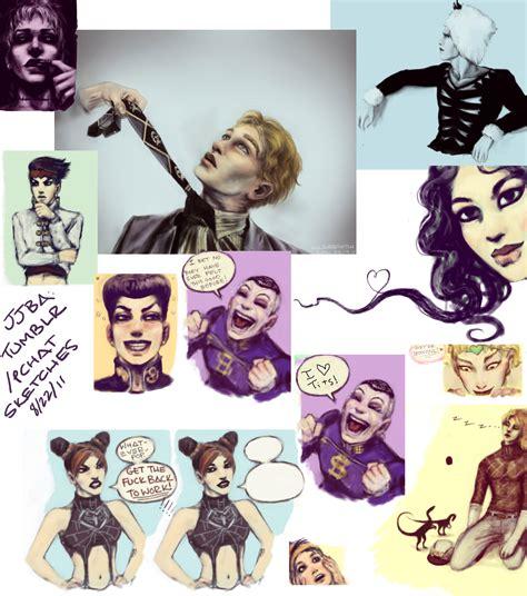 jjba wallpaper tumblr jjba tumblr pchat sketches 03 by cogdis on deviantart