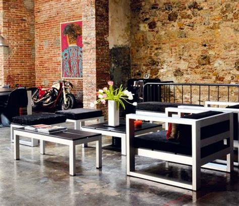 architectures modern loft with industrial bricks element modern loft with industrial bricks element for apartment