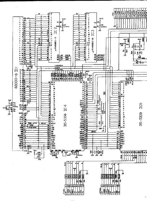 SEGA GAME GEAR VA1 Service Manual download, schematics