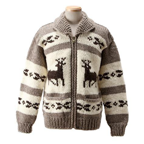 canadian zip code pattern monomania rakuten global market cowichan sweaters deer