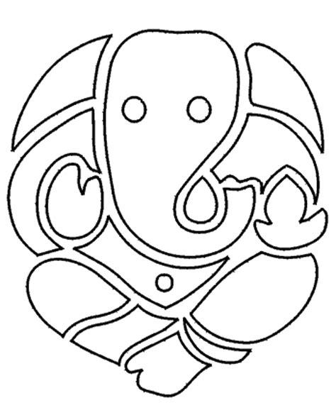 lord ganesha drawing cliparts co