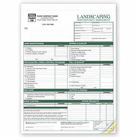 landscape maintenance agreements contracts 6523 deluxe com