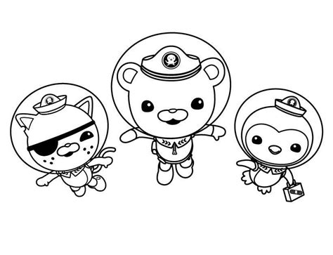 octonauts coloring pages pdf octonauts coloring pages to print coloring home