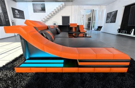 sofa mit ottomane leder sofa in u form leder das beste aus wohndesign und m 246 bel