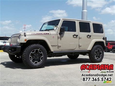 jeep sand color 2016 mojave sand jeep wrangler unlimited rubicon hard rock
